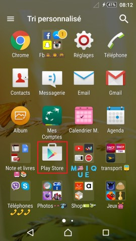Application Sony android 5.1 playstore