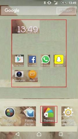 Personnaliser thème sonnerie et fond d'écran (Sony android 6.0) theme 2