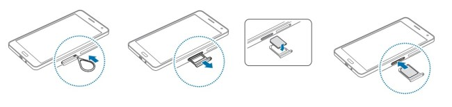 Samsung Galaxy A7 SIM simple
