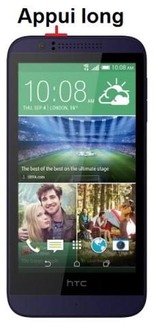 HTC Desire 510-allumage