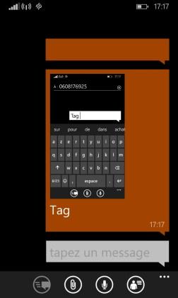 MMS Lumia windows 8.1 MMS envoyer 2