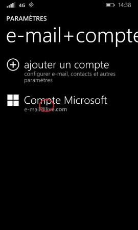 Windows store windows 8.1 compte microsoft appuie