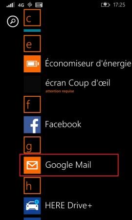 mail Lumia windows 8.1 email
