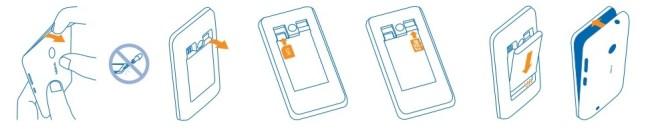 Microsoft Nokia Lumia 530 carte SIM