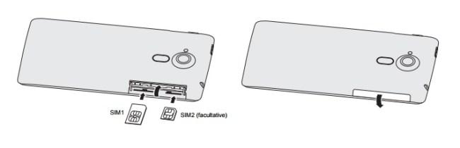 Acer Liquid Z5 carte SIM