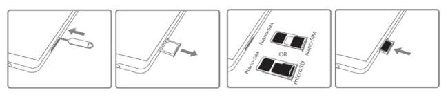 Huawei Mate 8 carte sim
