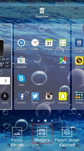 Samsung 5.x aide widget