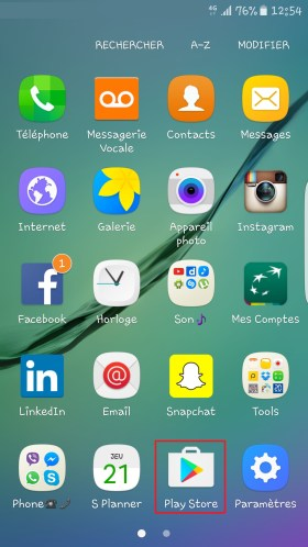 Applications Samsung android 6.0 playstore