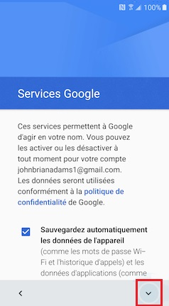 Activation Samsung (android 6.0) activation compte 12