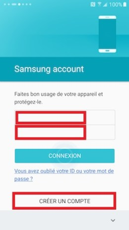 Activation Samsung (android 6.0) compte samsung 17