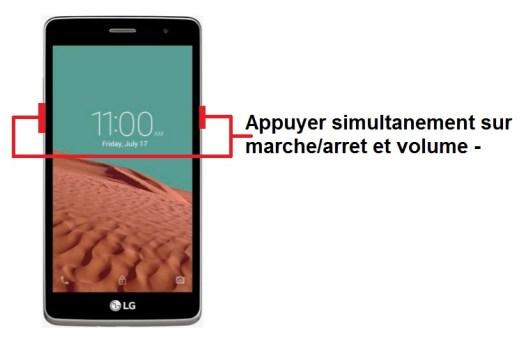 LG Bello II screenshot