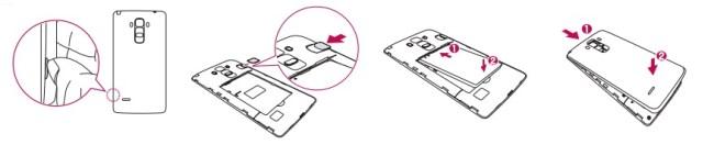 LG G4 stylus carte SIM