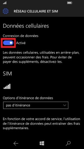 MMS Lumia Windows 10 APN MMS