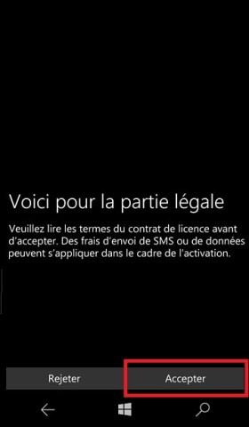 lumia 10 mise en route condition 5