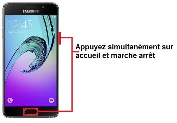 Samsung Galaxy A3 2016 screenshot