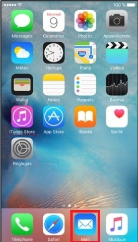mail iPhone 6 Mail