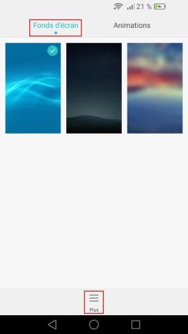 Personnaliser Huawei thème sonnerie fond d'écran android 6.0 fond ecran 3