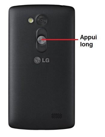 LG LFino allumage