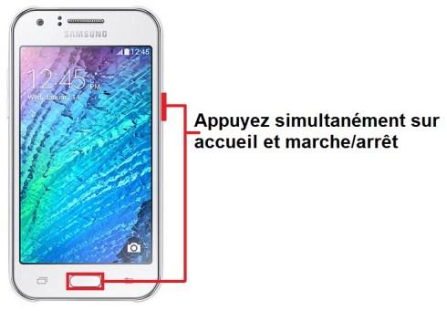 Samsung Galaxy J1 screenshot