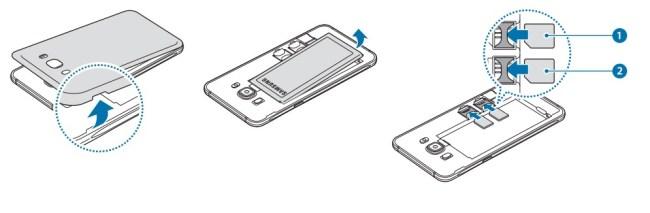 Samsung Galaxy J5 2016 carte sim double sim