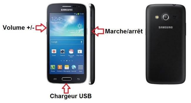 Samsung Galaxy Core 4G apercu