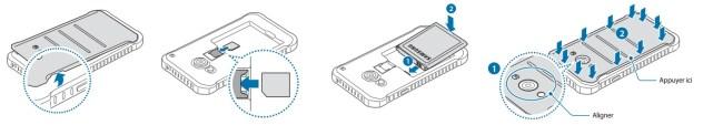 Samsung Galaxy Xcover 3 carte SIM