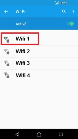 internet Sony android 6 . 0 wifi selection