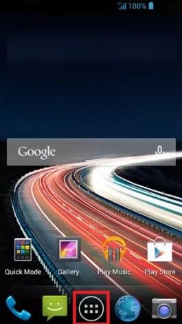 contact code pin ecran verrouillage Acer android 4.2 applis