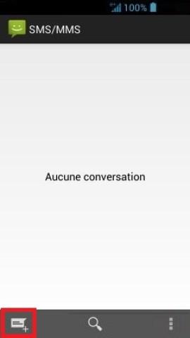 MMS Acer 4.2 nouveau message