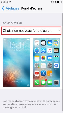 Personnaliser iPhone 6 , 6S, Plus, SE-nouveau-fond-ecran