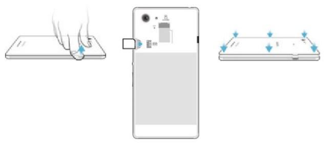 Sony Xperia E3 carte SIM