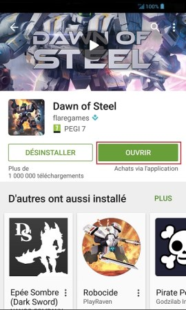 Applications Acer android 4 . 2-playstore-ouvrir