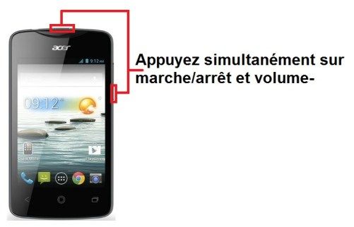 Acer Liquid Z3 screenshot
