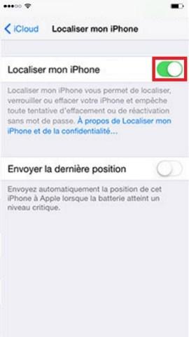 iPhone pour la vente localiser-mon-iphone-2