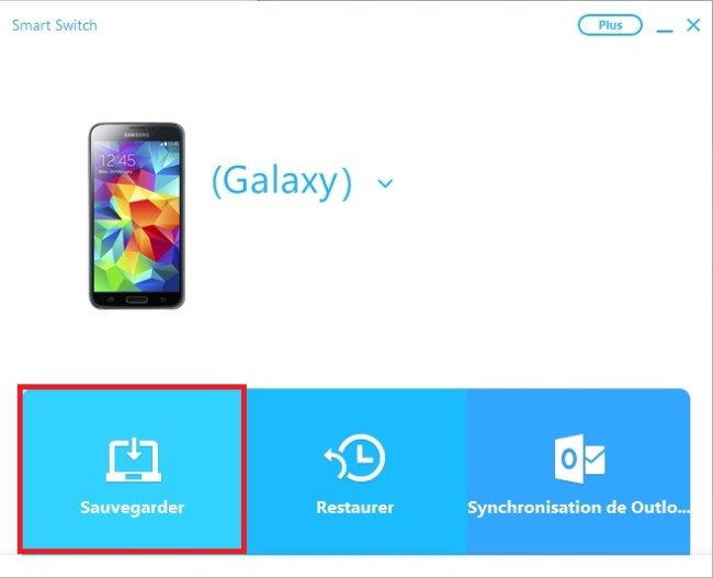 Samsung Smart switch-sauv