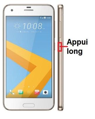 HTC One A9-allumage