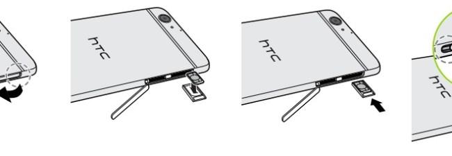 HTC M9-carte-sim