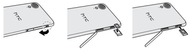 HTC Desire 825-carte-sim