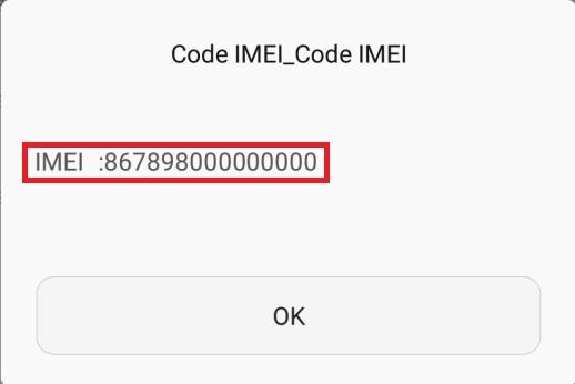 IMEI info 3