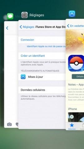 Trucs et astuces iPhone 7 application ouverte