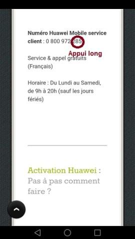 Trucs astuces Huawei Honor 7-copier