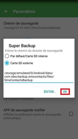 Super Backup super sauvegarde SD