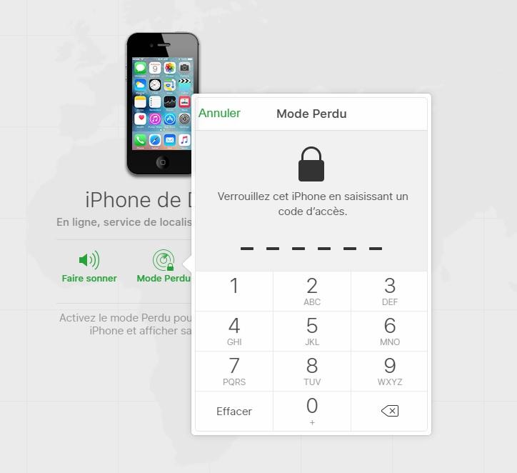 Localiser le Nokia Lumia 520 avec une application dédiée