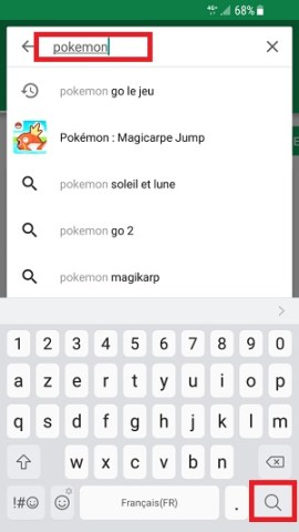 application Samsung android 7 nougat recherche