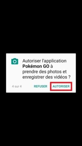 application Samsung android 7 nougat autoriser