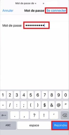 Assistant de configuration iPhone X