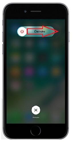 éteindre iPhone 7