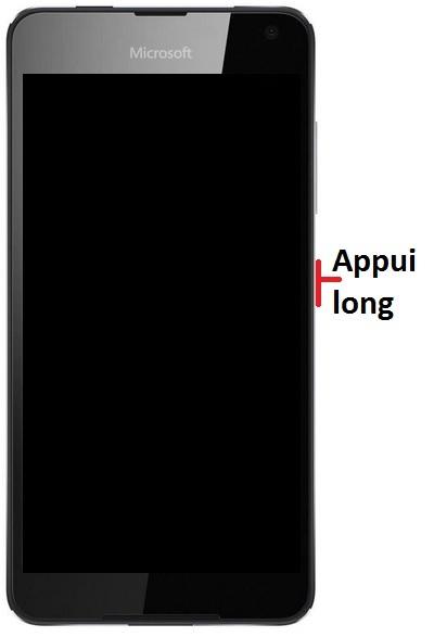 Allumer Lumia 650
