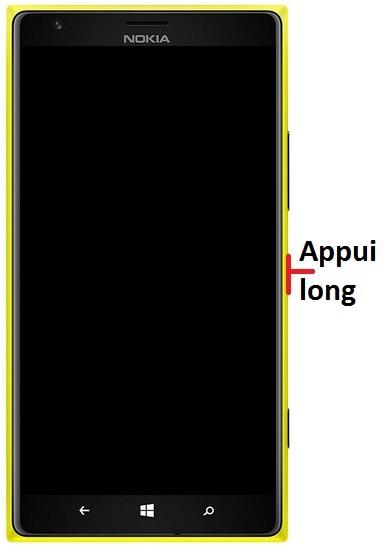 Allumer Lumia 1520