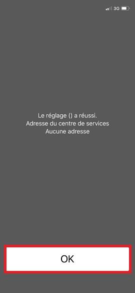 SMS iMessages iPhone 7 centre de services